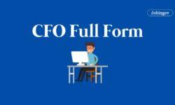 CFO Full Form